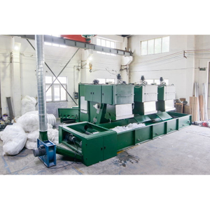 HONGE-New Model Nonwoven Automatic Weighing System Bale Opener Machine For Fibre