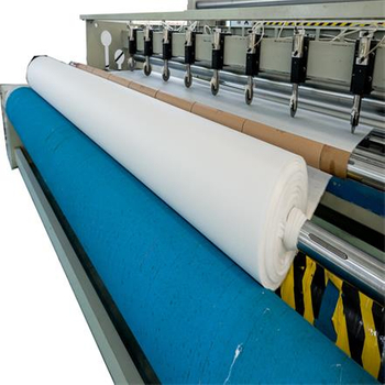 Features of non-woven fabric machine